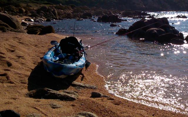 peche Kayak corse